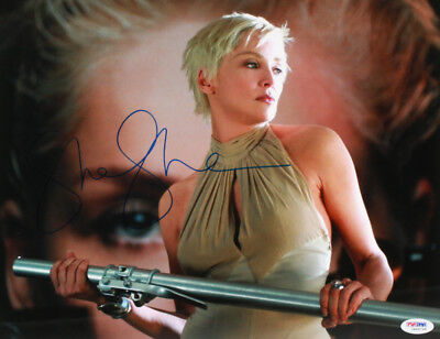 "Sharon Stone SIGNED 11x14 Catwoman"" photo w/ PSA COA / holo- AUTHENTICATED!"