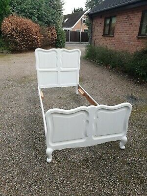 French Antique Louis XV Style Single Bed