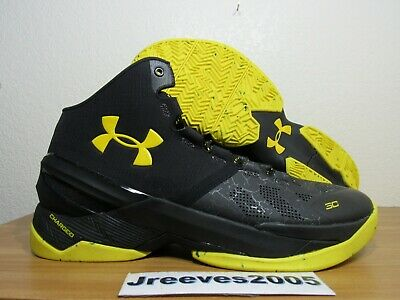 05b0f0f4c35 UNDER ARMOUR UA Curry 2 Dark Knight 1259007-006 MVP Basketball Shoes ...