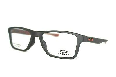 aeece8d076 New Oakley Fin Box Ox8108-0253 Black Authentic Eyeglasses Frame 53Mm Rx