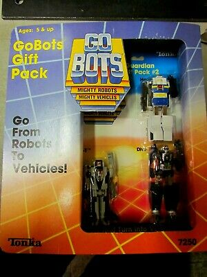 New Old Stock Tonka Go Bots  7250 Guardian Gift Pack #1 Rest Q Wrongway Major Mo