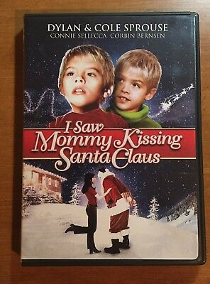 I Saw Mommy Kissing Santa Claus DVD Dylan Cole Sprouse 2001