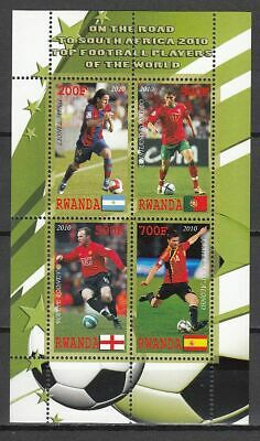 Football / Soccer / Fussball - WM 2010:  Ruanda  Klb 1 **, perf.