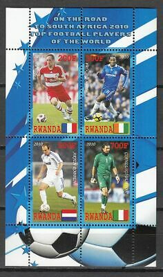 Football / Soccer / Fussball - WM 2010:  Ruanda  Klb 2 **, perf.