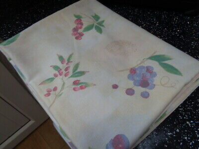 Marks And Spencer Wild Fruits Rectangular Tablecloth