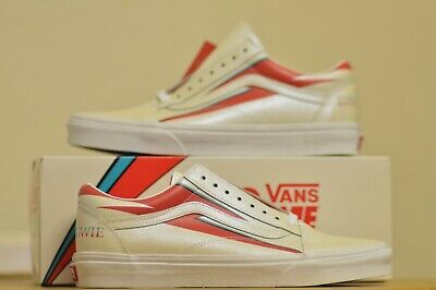 Vans ® x David Bowie Old Skool | White | Various Sizes Available |