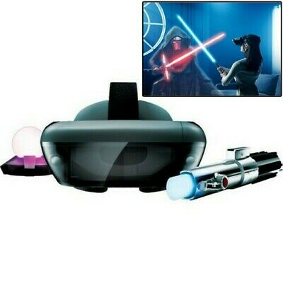 Lenovo Star Wars Jedi Challenges AR Headset Game with Lightsaber Controller