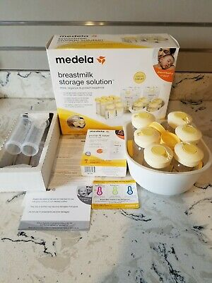 Medela Breastmilk Storage Solution Set Store Organize Protect BPA Free Complete