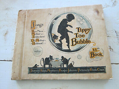 Tippy Toe Bubble Vintage Illustrated Childrens Kids Books