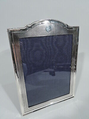 George V Frame - Picture Photo Antique Art Deco Modern - English Sterling Silver
