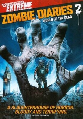 Zombie Diaries 2, World of the Dead, Dimension Extreme (DVD, 2011)  New Horror