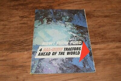 Ford 2000 3000 4000 5000 Major Super Dexta Tractor VINTAGE BROCHURE  24 pg