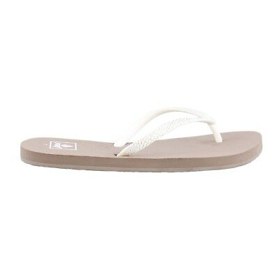 eef9a1cd0 Womens REEF Stargazer Sassy Flip Flop Sandal Thong Taupe White Size 8