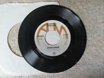 JOAN BAEZ diamonds and rust / winds of the old days A&M    45