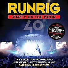 Party On The Moor (The 40th Anniversary Concert) by Runrig | CD | condition good