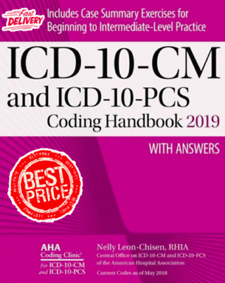 ICD-10-CM and ICD-10-PCS Coding Handbook, with Answers-2019(PDF/EB00K)