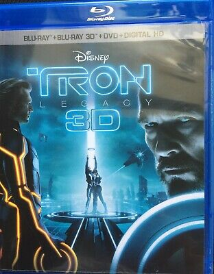 Tron Legacy (Bluray, 3D, or DVD) Never played -READ DESCRIPTION