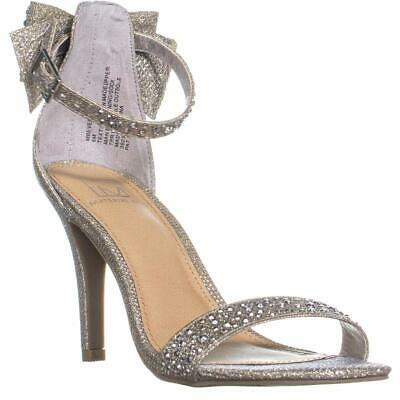 358fa24f4 MATERIAL GIRL MG35 Shayleen Rhinestone Bow T-Strap Sandals