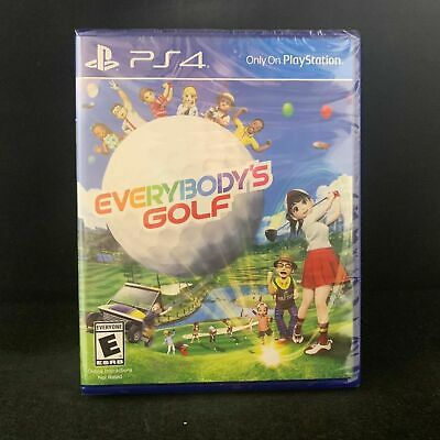 Everybody's Golf (Sony PlayStation 4 , 2018)  HOt shot golf for PS4