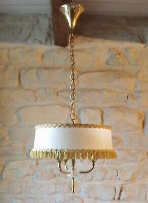 1950's  Chandelier Vintage French (Retro)