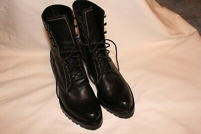 designer lace up ankle boots