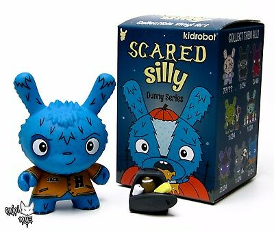 """Kidrobot Dunny SCARED SILLY DUNNY 3/"""" New The Bots Witch Chase BUY 4 get 1 FREE"""