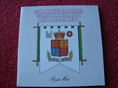 1987 UK Brilliant uncirculated coin collection