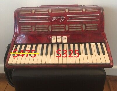 SCANDALLI, Accordion, VGC, Made in Italy
