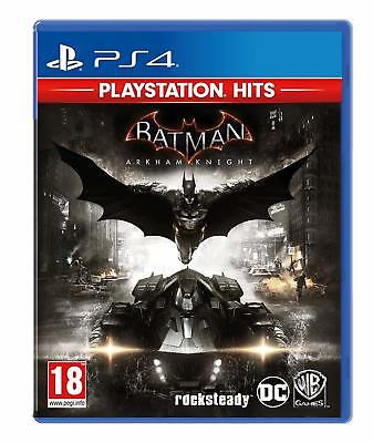 Batman Arkham Knight PS4 (PlayStation Hits) Game PAL Vers New Sealed In Stock