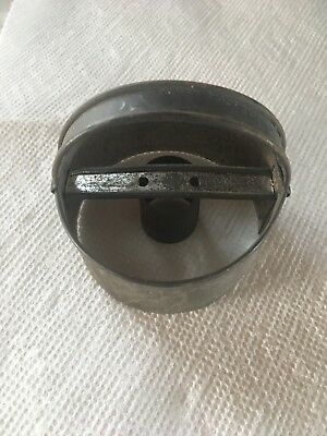Antique Tin Strapped Biscuit Donut Cookie Cutter