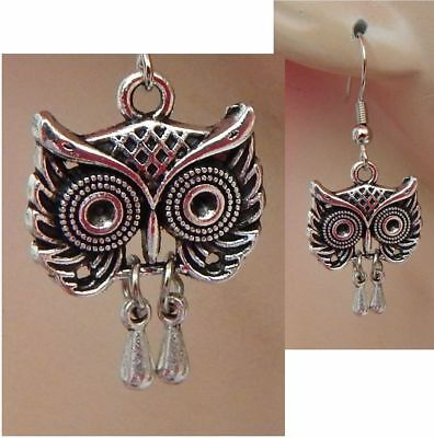 "Owl Bird of Prey Majestic Animal Lover 8/"" Bracelet w//Fold-Over Clasp"