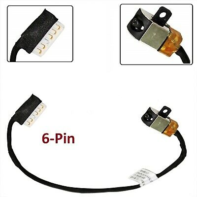 Dell Inspiron 15 15-5565 15-5566 15-5567 DC Power Jack Cable DC30100YN00  0R6RKM