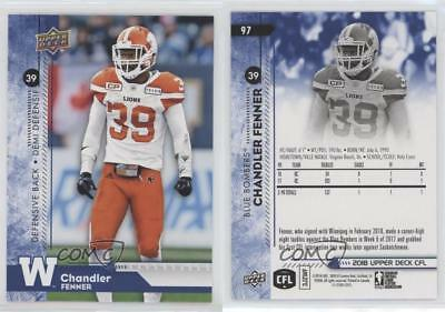 2018 Upper Deck CFL Blue Parallel Pick From List to Complete Set/Collection
