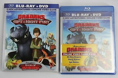 Dragons: Gift of the Night Fury Book of Dragons (Blu-ray + DVD 2011 2-Disc Set)