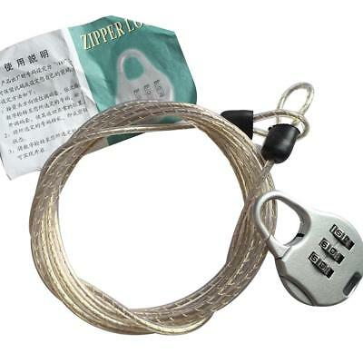 Car Cover Combination Lock Home Travel Luggage Rope Password Anti-theft Lock