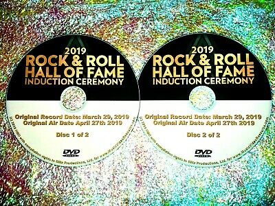 2019 ROCK & ROLL HALL OF FAME INDUCTION CEREMONY 2 DVD Set THE CURE ROXY MUSIC