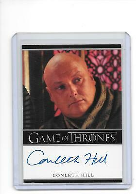 Game of Thrones Season 2 Conleth Hill as Lord Varys Bordered Auto Autograph