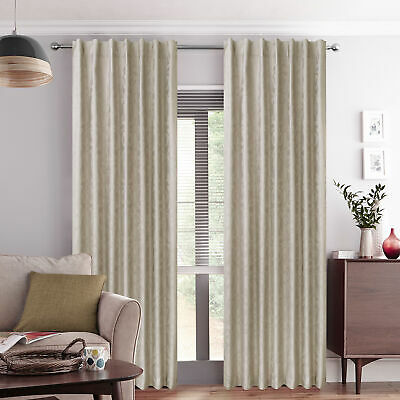 NEW Cream Gala Concealed Tab Top Curtains - Accessorize,Curtains