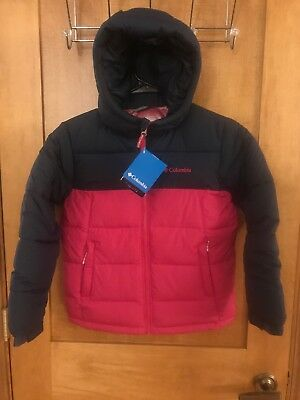 NWT Columbia Youth Pike Lake Jacket - Small - Nocturnal Cactus Pink - retail $90