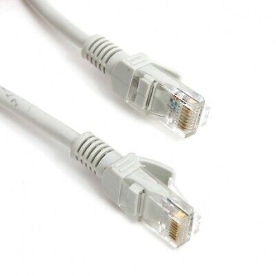 Cable UTP Omega OPC5U Blanco 1M 5E 100 MZH 25 GB, Cables