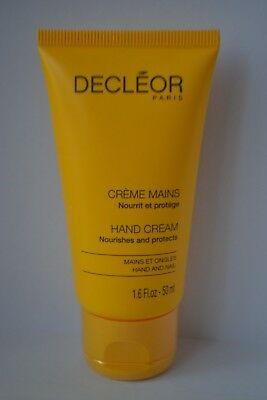 Decleor Creme Mains nourishes and protects hand cream travel size 50ml  RRP £14
