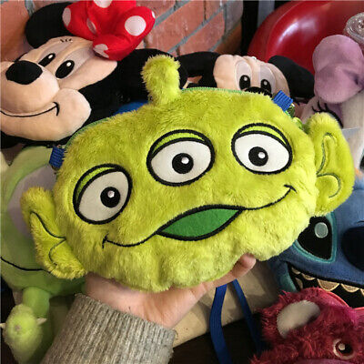Toy Story Alien Plush Coin Purse Messenger Crossbody Bag Doll Kids Adult