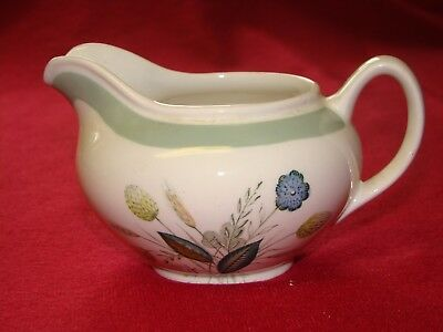 Vintage 1960s WOODS WARE - CLOVELLY - CREAM MILK JUG or SAUCE GRAVY BOAT