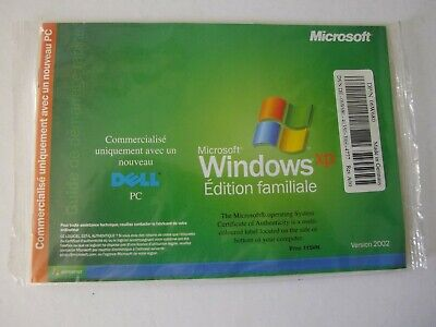 Microsoft WINDOWS XP Home Edition SP1 pour DELL