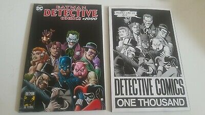 Detective Comics #1000 (Forbidden Planet 40th Anniversary Bolland Variant Set)
