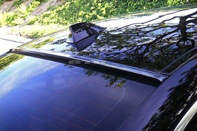 -Rear Window Roof Spoiler XE30 White Painted For 2013-2019 LEXUS iS250 300 350