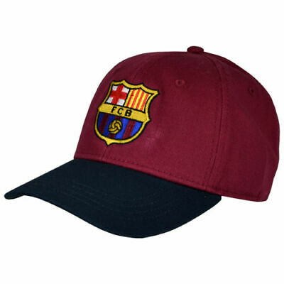 50dd544bd35 FC Barcelona Cap CL Baseball Hat Crest Gift Official Licensed Football  Product