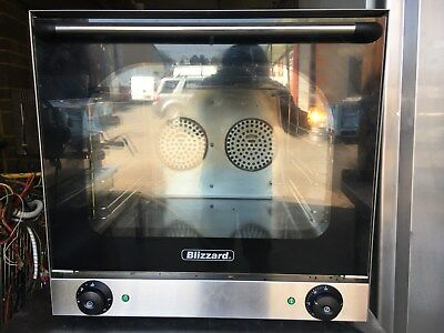 Blizzard Convection Oven Commercial Heavy Duty Single Phase Electric 1ph