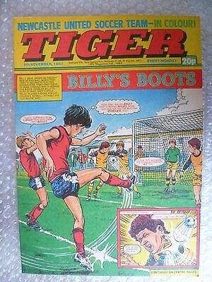 Comic- Tiger , 5th Nov 1983- BILLY'S BOOTS