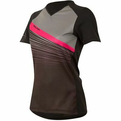 PEARL iZUMi Women's, Launch Jersey, Black / Smoked Pearl Fracture, Size XS